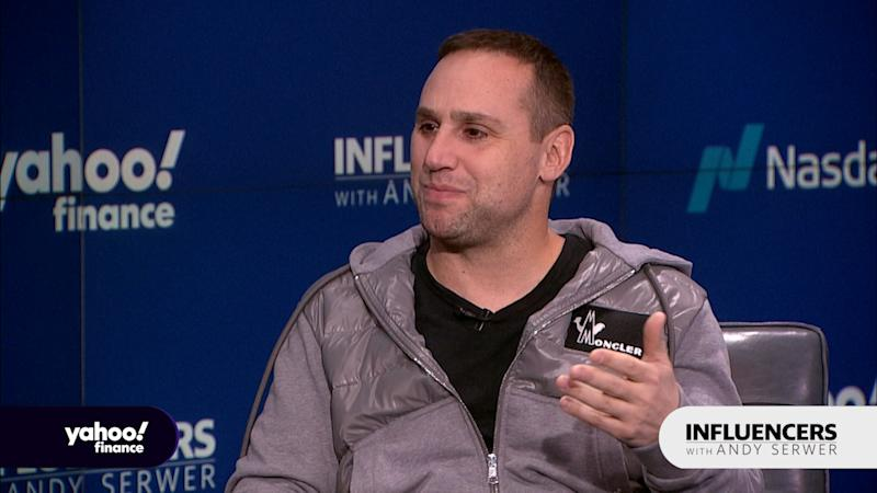 Fanatics Executive Chairman Michael Rubin appears on Influencers with Andy Serwer.