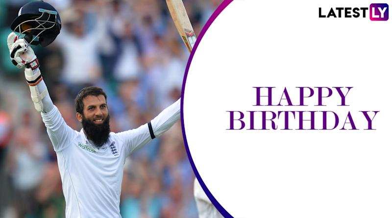 Moeen Ali Birthday Special: Lesser-Known Facts About the England All-Rounder