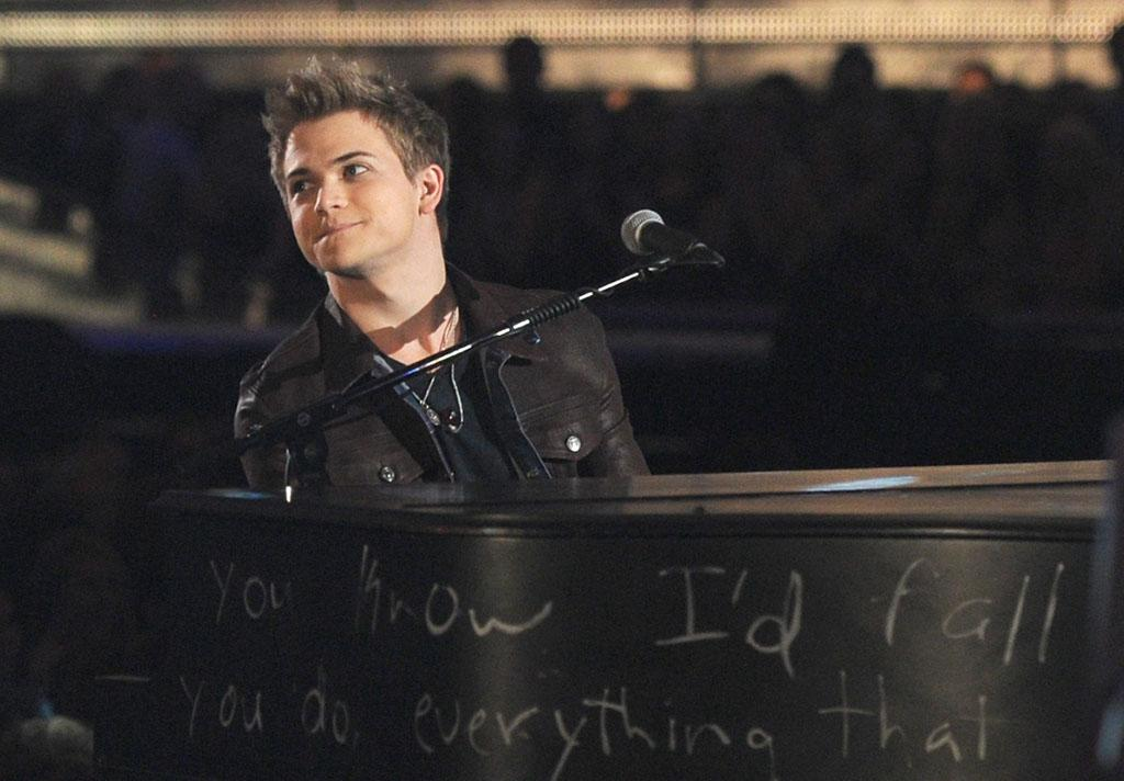Hunter Hayes performs at the 55th Annual Grammy Awards at the Staples Center in Los Angeles, CA on February 10, 2013.
