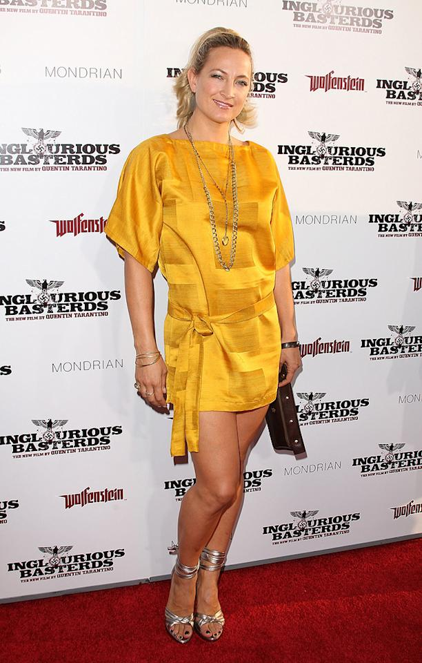 """<a href=""""http://movies.yahoo.com/movie/contributor/1809076446"""">Zoe Bell</a> at the Los Angeles premiere of <a href=""""http://movies.yahoo.com/movie/1808404206/info"""">Inglourious Basterds</a> - 08/10/2009"""