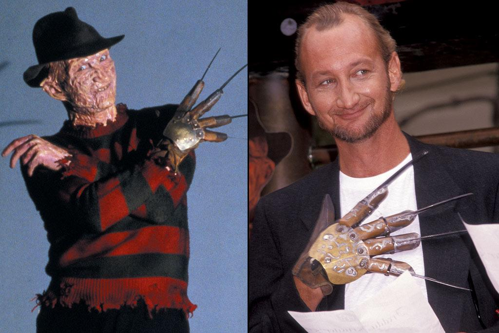 """FREDDY KRUEGER  ACTOR: <a href=""""http://movies.yahoo.com/movie/contributor/1800011776"""">Robert Englund</a>  MOVIE: <a href=""""http://movies.yahoo.com/movie/1802816835/info"""">Nightmare on Elm Street</a> (1984)   Robert Englund has become a pop culture icon, thanks to his turn as everyone's favorite disfigured dream stalker. Yet even before he put on all that latex and that deadly glove, Englund impacted, if indirectly, another pop culture phenomenon. When he failed to land the role of Luke Skywalker in an audition, he told his friend to try out. His friend was <a href=""""http://movies.yahoo.com/movie/contributor/1800024828"""">Mark Hamill</a>."""