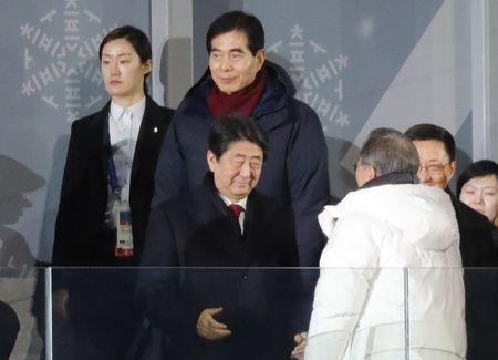 Awkward diplomacy on show as 'peace' Games begin