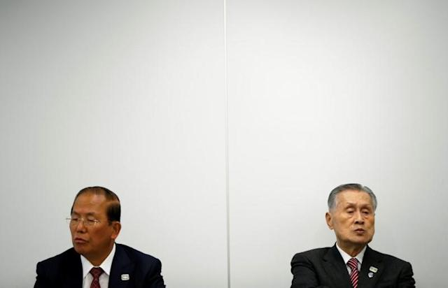 Tokyo 2020 Olympic Games organising committee news conference