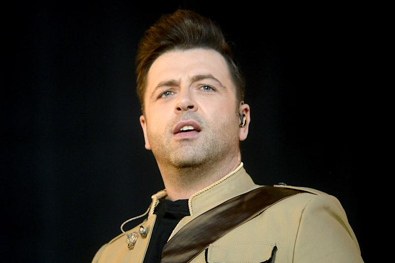 LONDON, ENGLAND - SEPTEMBER 15: Mark Feehily of Westlife performs on stage during BBC2 Radio Live 2019 at Hyde Park on September 15, 2019 in London, England. (Photo by Dave J Hogan/Getty Images)