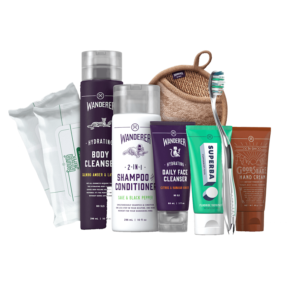 "Teach your dad the art of self-care with a gift set from Dollar Shave Club. Score free shipping within five to seven days at checkout, or snag a <a href=""https://www.amazon.com/Dollar-Shave-Club-Gift-Card/dp/B01MUG92R4"" rel=""nofollow noopener"" target=""_blank"" data-ylk=""slk:DSC gift card"" class=""link rapid-noclick-resp"">DSC gift card</a> from Amazon if you're cutting it even closer. $35, Dollar Shave Club. <a href=""https://www.dollarshaveclub.com/gift/sets/care-package-two"" rel=""nofollow noopener"" target=""_blank"" data-ylk=""slk:Get it now!"" class=""link rapid-noclick-resp"">Get it now!</a>"
