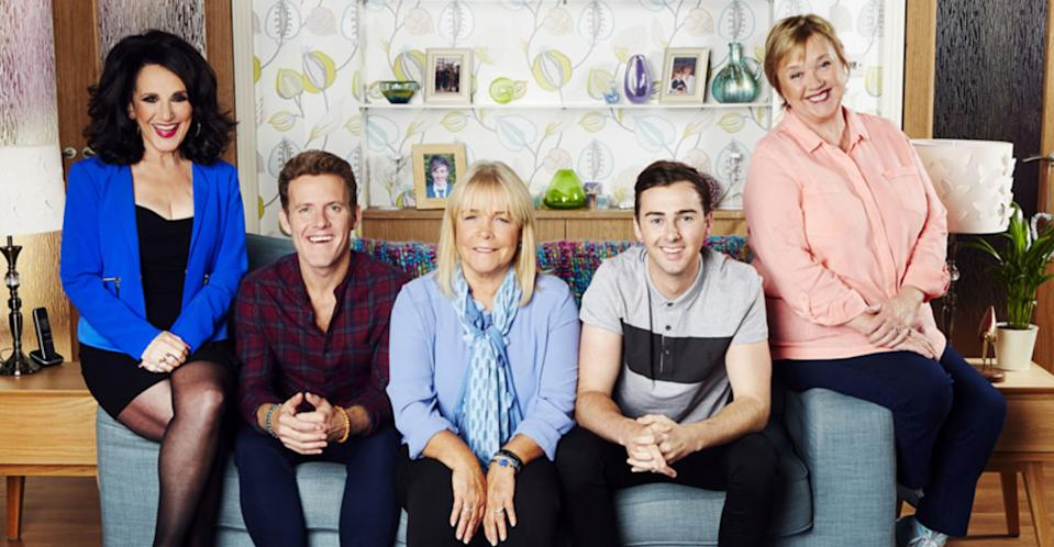 Pauline Quirke won't be returning for the 'Birds of a Feather' Christmas special. (ITV Pictures)