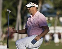 Robert Allenby missed another chance for his first tour win in nine years