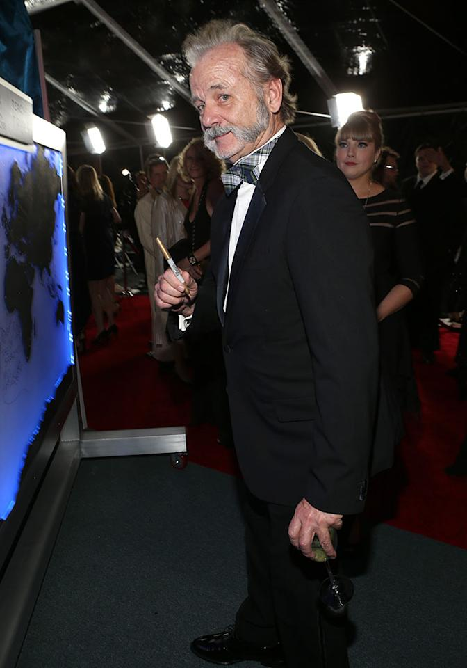 Bill Murray attends the NBCUniversal Golden Globes viewing and after party held at The Beverly Hilton Hotel on January 13, 2013 in Beverly Hills, California.