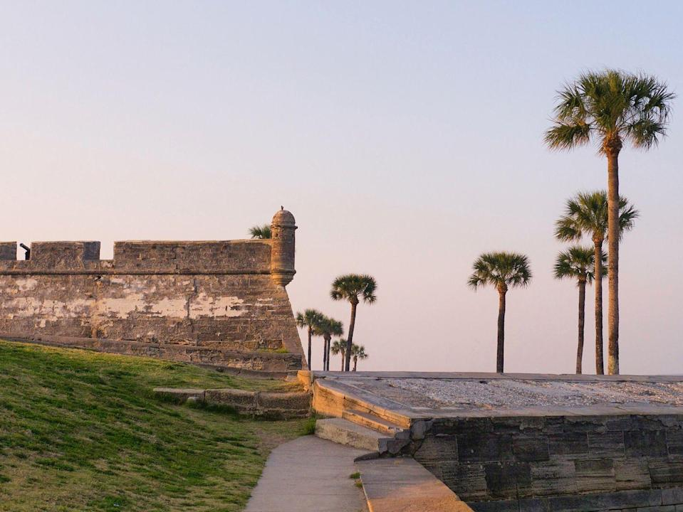 <p>Located in what's considered America's oldest city—St. Augustine, Florida—Castillo de San Marcos is a beautiful, 16th century fortress set along the Atlantic Ocean. This national monument was the site of both great triumph and tribulation, and is thought to have been the site of the lesser-known first Thanksgiving when Spanish celebrated their arrival with the local Seloy tribe more than 50 years prior the the Puritan Thanksgiving we commemorate today. </p>