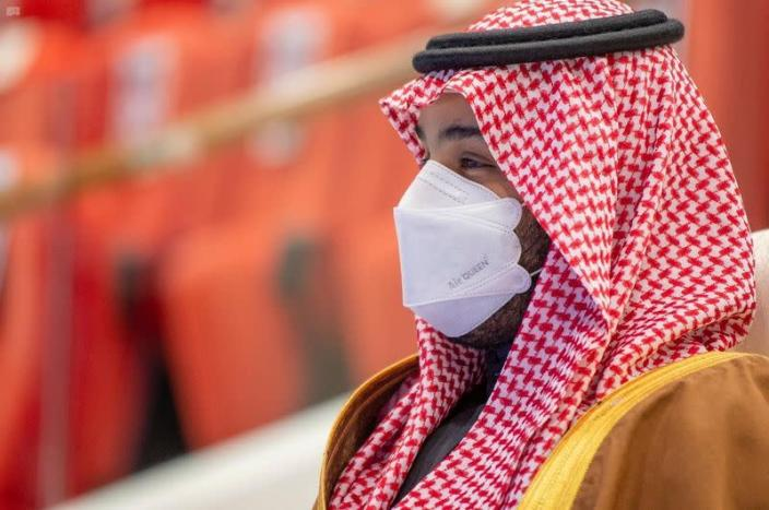 FILE PHOTO: Saudi Crown Prince, Mohammed bin Salman attends the Saudi Cup at King Abdulaziz Racetrack in Riyadh