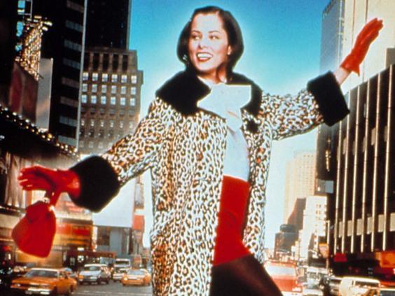 Librarian cool: Posey in the cult classic 'Party Girl' (1995) (First Look Pictures)