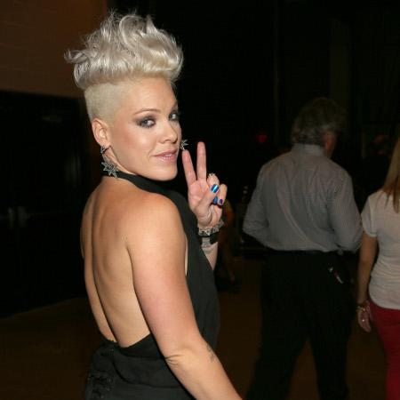 Pink wows on tour