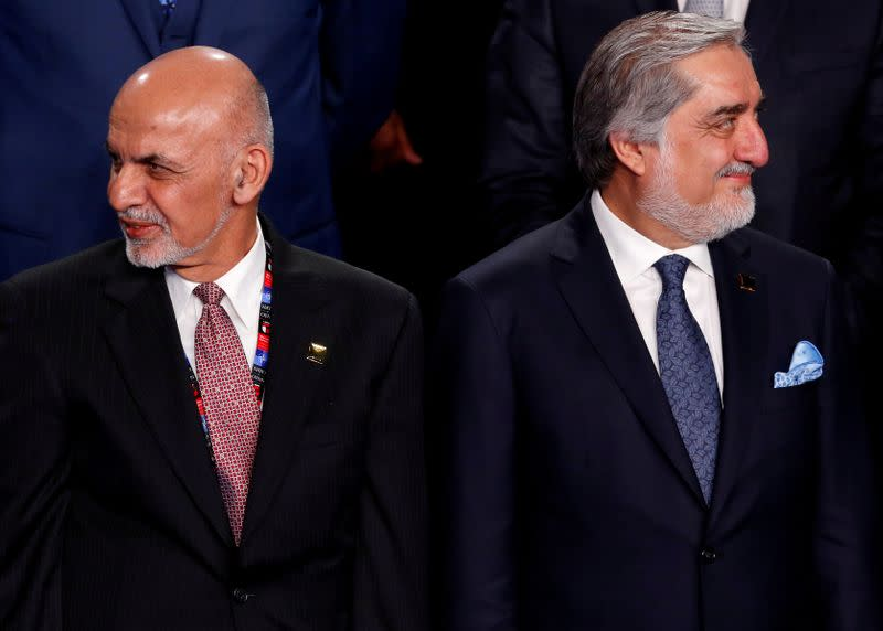 Afghan political rivals issue parallel invites for inauguration ceremonies