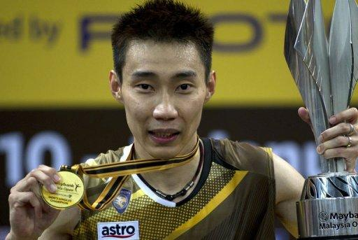 Lee's previous Malaysia Open titles came in 2004, 2005, 2006, 2008, 2009, 2010 and last year