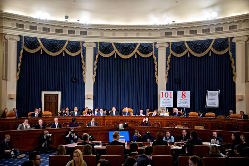 FILE PHOTO: House Intelligence Committee Holds Hearing On Impeachment Inquiry Of President Trump
