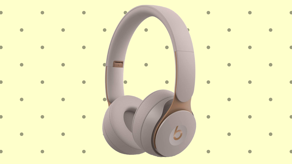 You can literally buy an ebony or ivory (pictured) pair of these Beats. Of course, if you're more inclined to the gray side; you can get those too. (Photo: Beats)