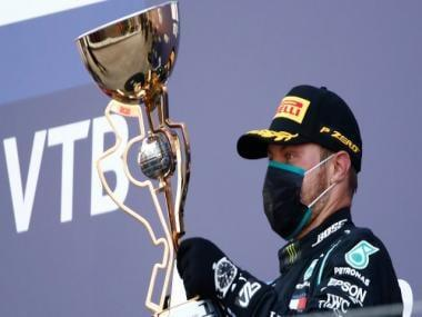 Formula 1 2020: Valtteri Bottas wins Russian GP as time penalties stop Lewis Hamilton from equalling win record