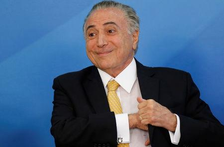 Brazil's President charged again with obstruction of justice