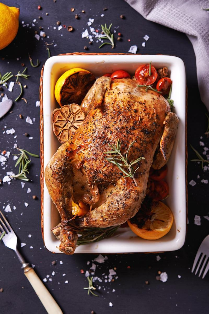 A woman asked if she had been stuffing her chicken's wrong? Photo: Getty
