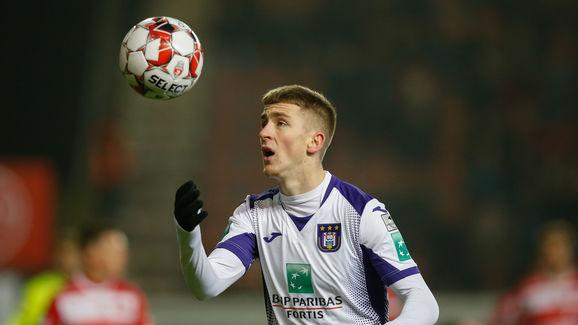 SOCCER CUP ROUND OF 16 MOUSCRON VS ANDERLECHT