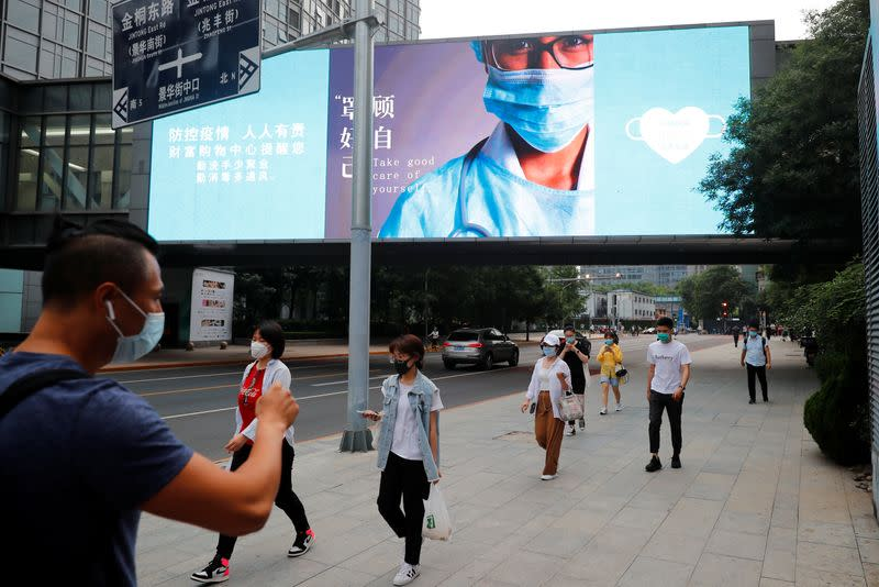 China reports 19 new COVID-19 cases, including seven in Beijing