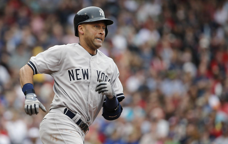Jeter leads Yankees over Red Sox, 6-4