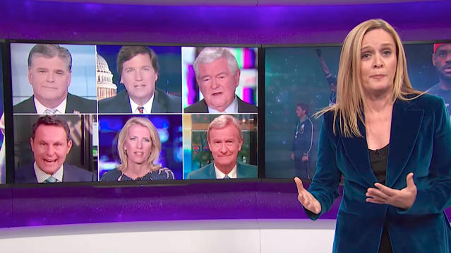 Samantha Bee Skewers Fox News' Hypocrisy Over NFL Protests
