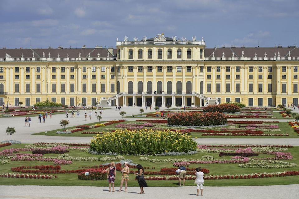 """<p>The origins of this opulent royal residence dates back to the end of the 17th century when Emperor Leopold I commissioned the Baroque architect Johann Bernhard Fischer von Erlach to design an imperial hunting lodge. Over the years, additions were made to the property by various member of the Habsburg family, but it wasn't until the reign of empress Maria Theresa that the palace was transformed into the glittering summer residence it's known as today. The 1,441-room palace and secret topiary maze still houses some of the most-prized artworks and sculptures from the Habsburgs' collection including the """"Wedding Supper"""" by Martin van Meytens.</p>"""