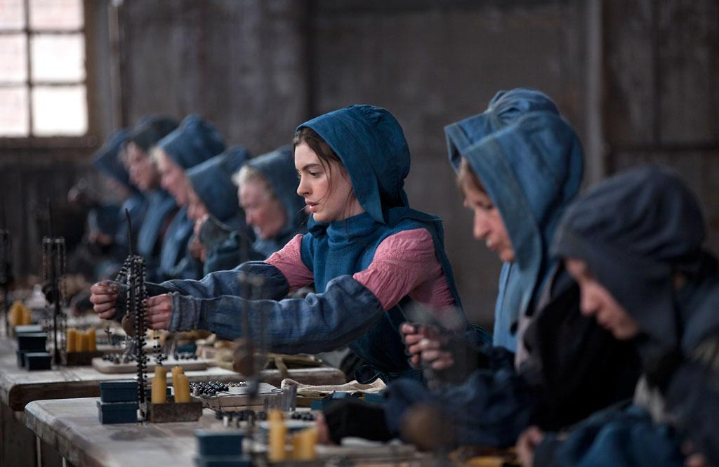 "Anne Hathaway in Universal Pictures' ""Les Miserables"" - 2012"