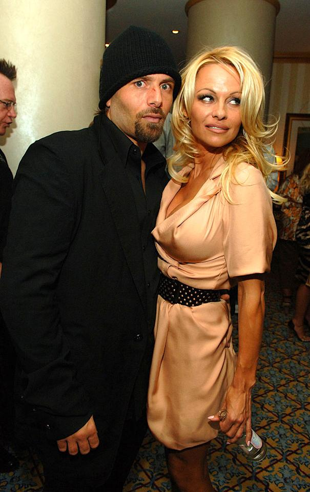 "The former ""Baywatch"" babe didn't waste much time before marrying yet again. Her next victim? Rick Salomon. The couple had gone on a few dates back in the day but decided to make it official in October of 2007. The train wreck crashed a measly two weeks later. Denise Truscello/<a href=""http://www.wireimage.com"" target=""new"">WireImage.com</a> - November 6, 2007"