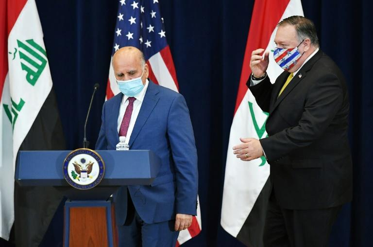 Iraq says 'not happy' with 'dangerous' US pullout threat
