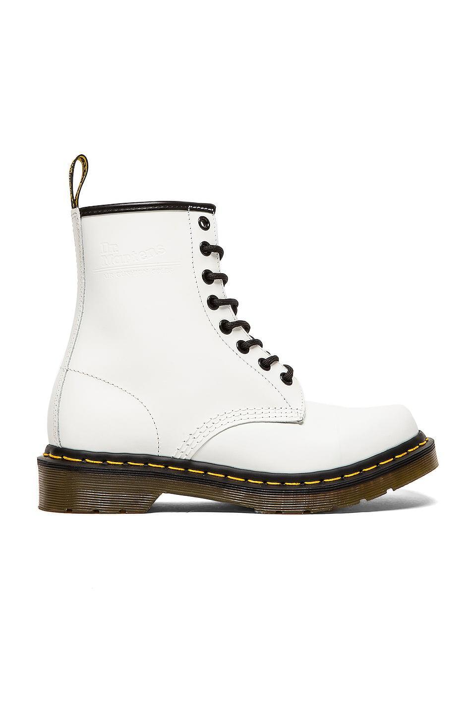 <p><span>Dr. Martens 1460 8 Eye Boot</span> ($140)</p>