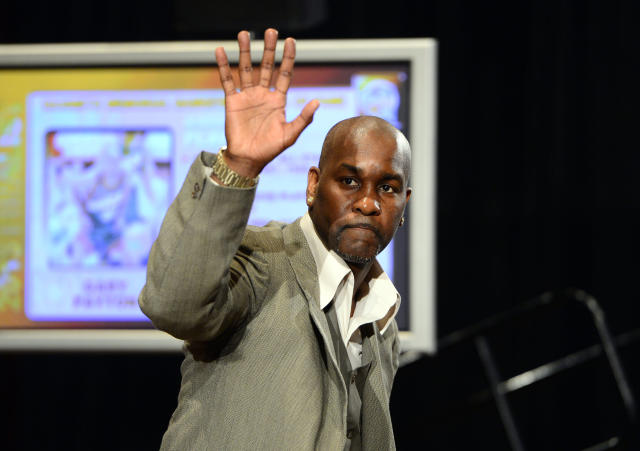 Gary Payton might cry at Hall of Fame induction
