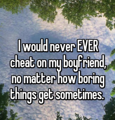 Couples Who Would Never Even Think Of Cheating