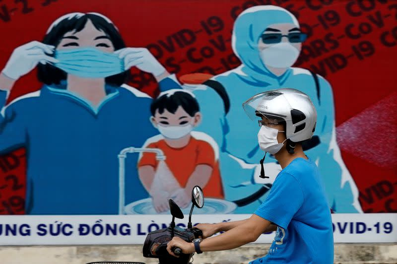 Vietnam reports 12 more local COVID-19 cases connected to Danang virus outbreak