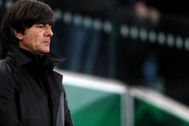 Joachim Low has been Germany coach since 2006 (Brian Lawless/PA)
