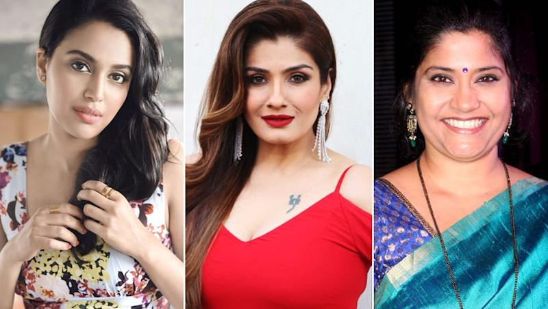 #MeToo in Bollywood: CINTAA Forms Committee, Members Include Swara Bhaskar, Raveena Tandon, Renuka Shahane