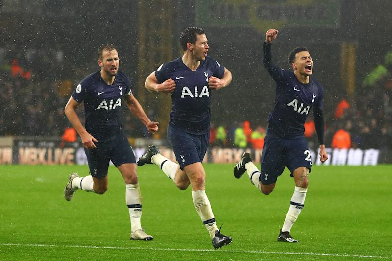 Tottenham Surge Under Jose Mourinho Continues With Win At Wolves