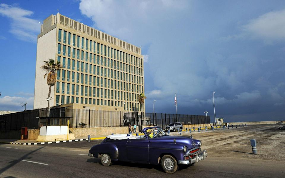 The mystery illness was first reported in the US embassy in Havana - YAMIL LAGE /AFP