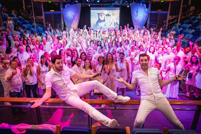 I Went on a Cruise with the Property Brothers: What It's Really Like to Go Sailing with the Scotts