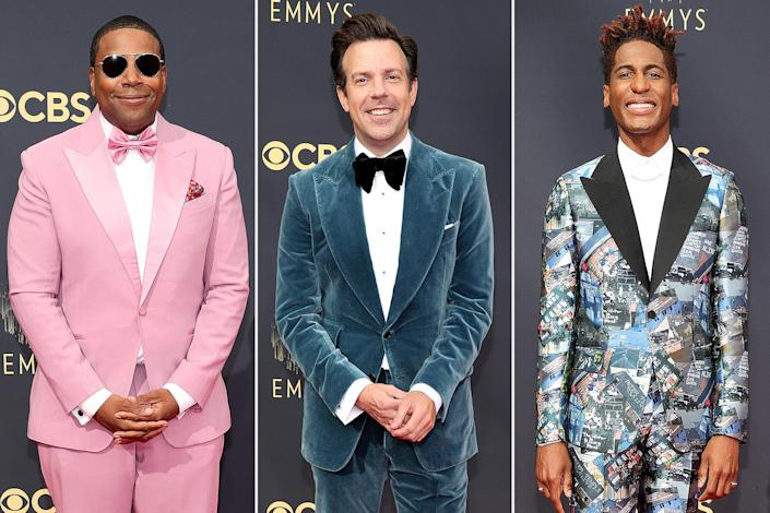 The Celebrity Men Making a Serious Style Statement at the 2021 Emmy Awards