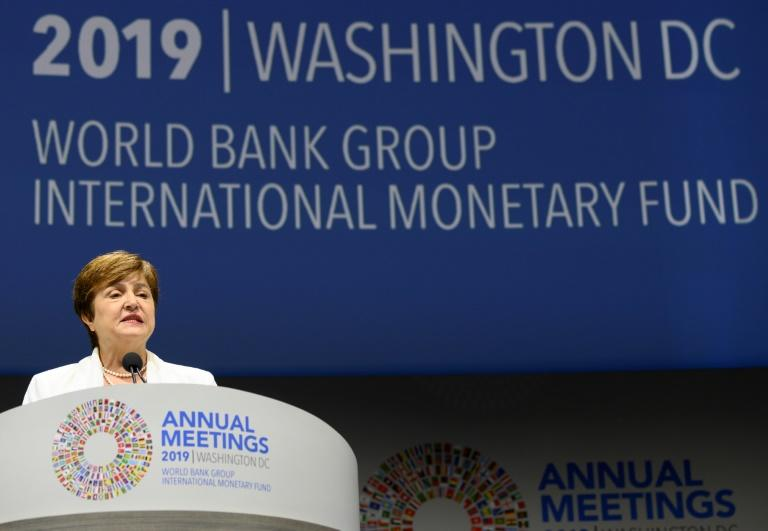 IMF Managing Director Kristalina Georgieva says peer pressure is building for countries to follow trade rules