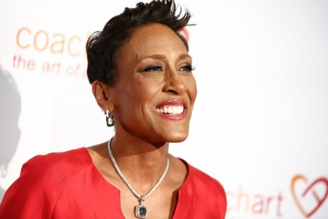 Robin Roberts Could Care Less About Omarosa's Exit From The White House
