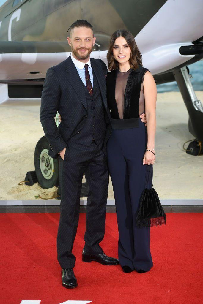 <p>The British actors met in 2009 after starring in Wuthering Heights together. Since then they've also co-starred in Peaky Blinders. Off screen, they have two children together.</p>