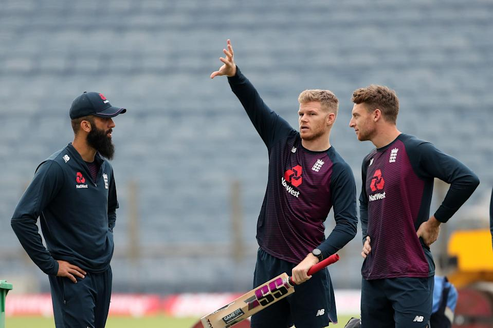 Moeen Ali, Sam Billings and Jos Buttler are among eight England players to have returned home (Getty Images)