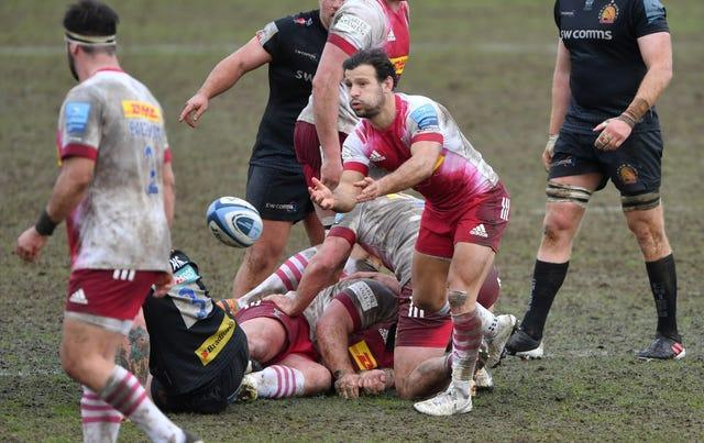 Danny Care in action at Exeter