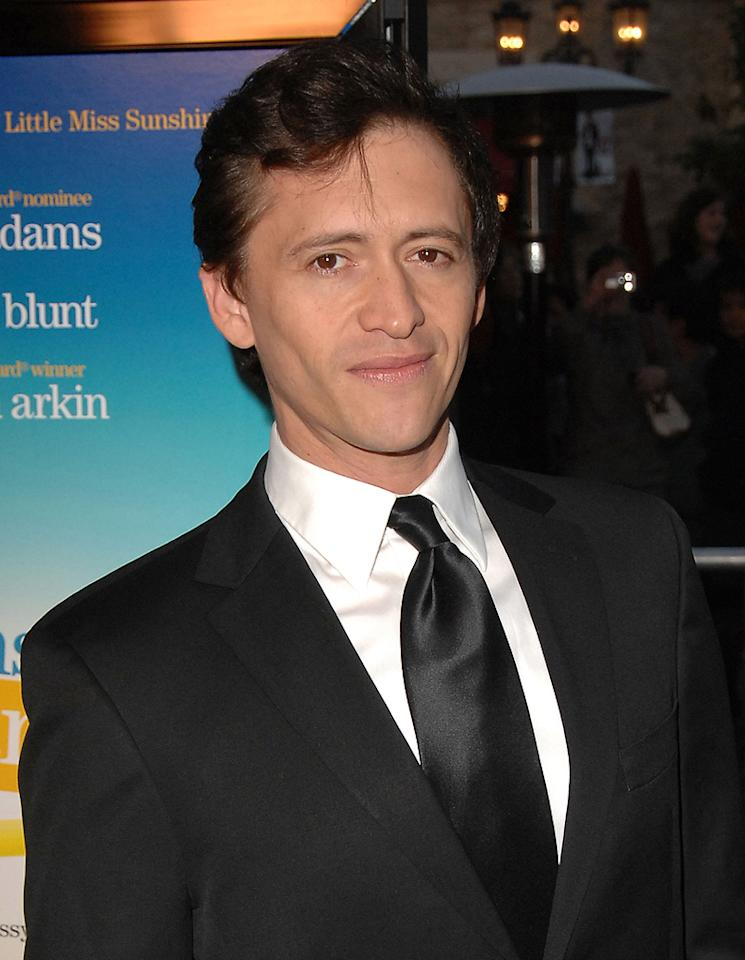"""<a href=""""http://movies.yahoo.com/movie/contributor/1800350330"""">Clifton Collins Jr.</a> at the Los Angeles premiere of <a href=""""http://movies.yahoo.com/movie/1809823943/info"""">Sunshine Cleaning</a> - 03/09/2009"""