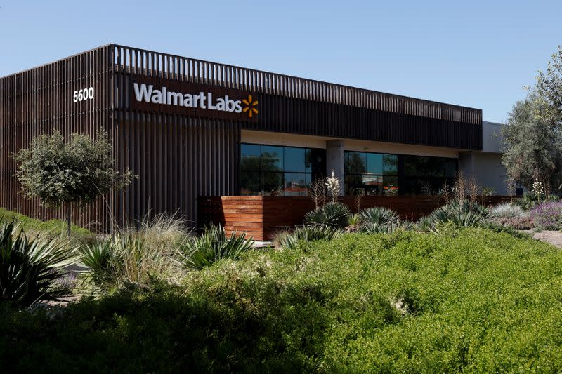 The technology arm of Walmart, Walmart Labs, is shown in Carlsbad, California,