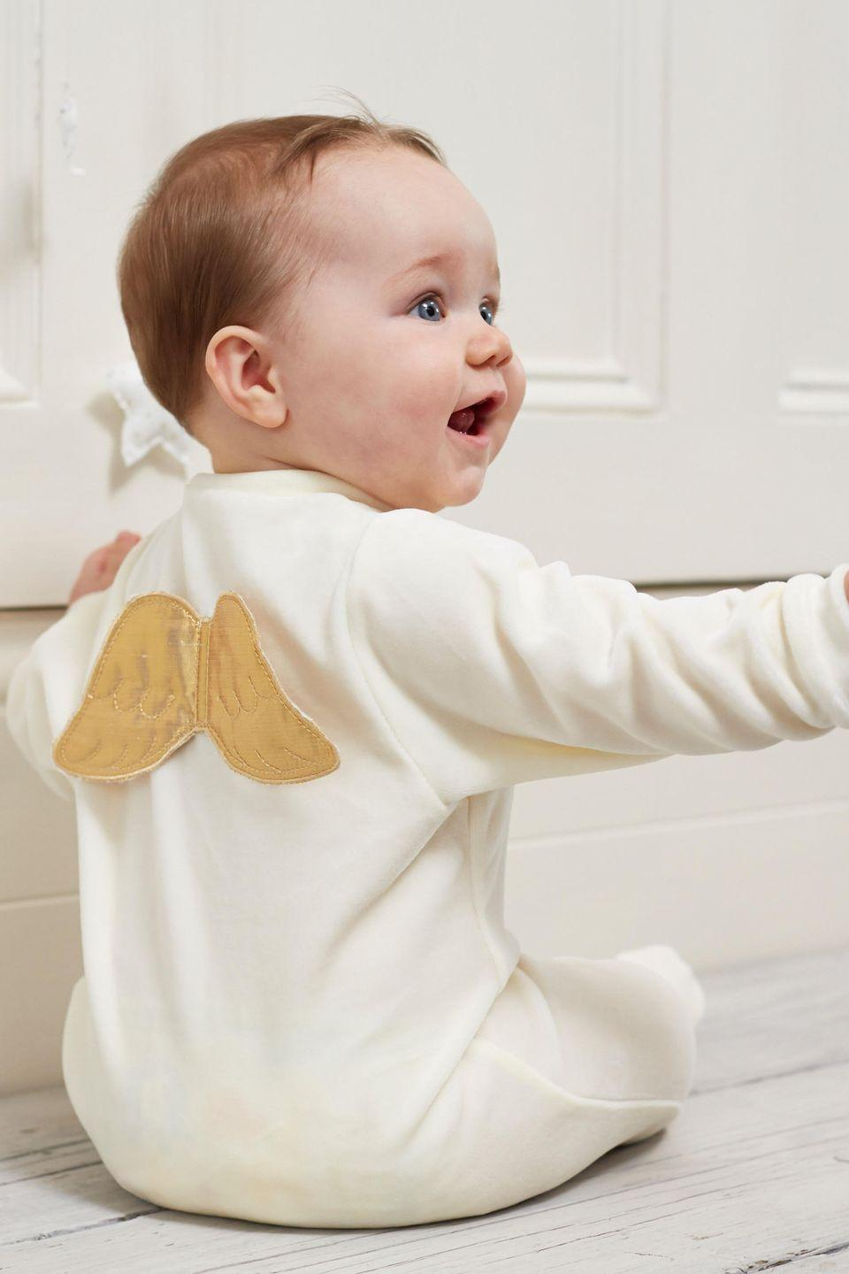 """<p>It's not really surprising that the royals have turned to this luxury children's label to dress their children – the brand's creator is royal herself. Princess Marie-Chantal is married to the Crown Prince of Greece and designs luxury childrenswear with playful details: think angel wings, embroidered crowns and cashmere accessories. Princess Charlotte has worn several MC creations, <a href=""""https://www.harpersbazaar.com/uk/culture/news/a41228/birthday-picture-princess-charlotte-turns-two/"""" rel=""""nofollow noopener"""" target=""""_blank"""" data-ylk=""""slk:including one of their scarves in her second birthday portrait"""" class=""""link rapid-noclick-resp"""">including one of their scarves in her second birthday portrait</a>.</p><p><a class=""""link rapid-noclick-resp"""" href=""""https://mariechantal.com/"""" rel=""""nofollow noopener"""" target=""""_blank"""" data-ylk=""""slk:SHOP NOW"""">SHOP NOW</a></p>"""