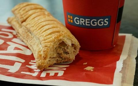 Greggs vegan sausage roll - Credit: Christopher Furlong/Getty Images Europe